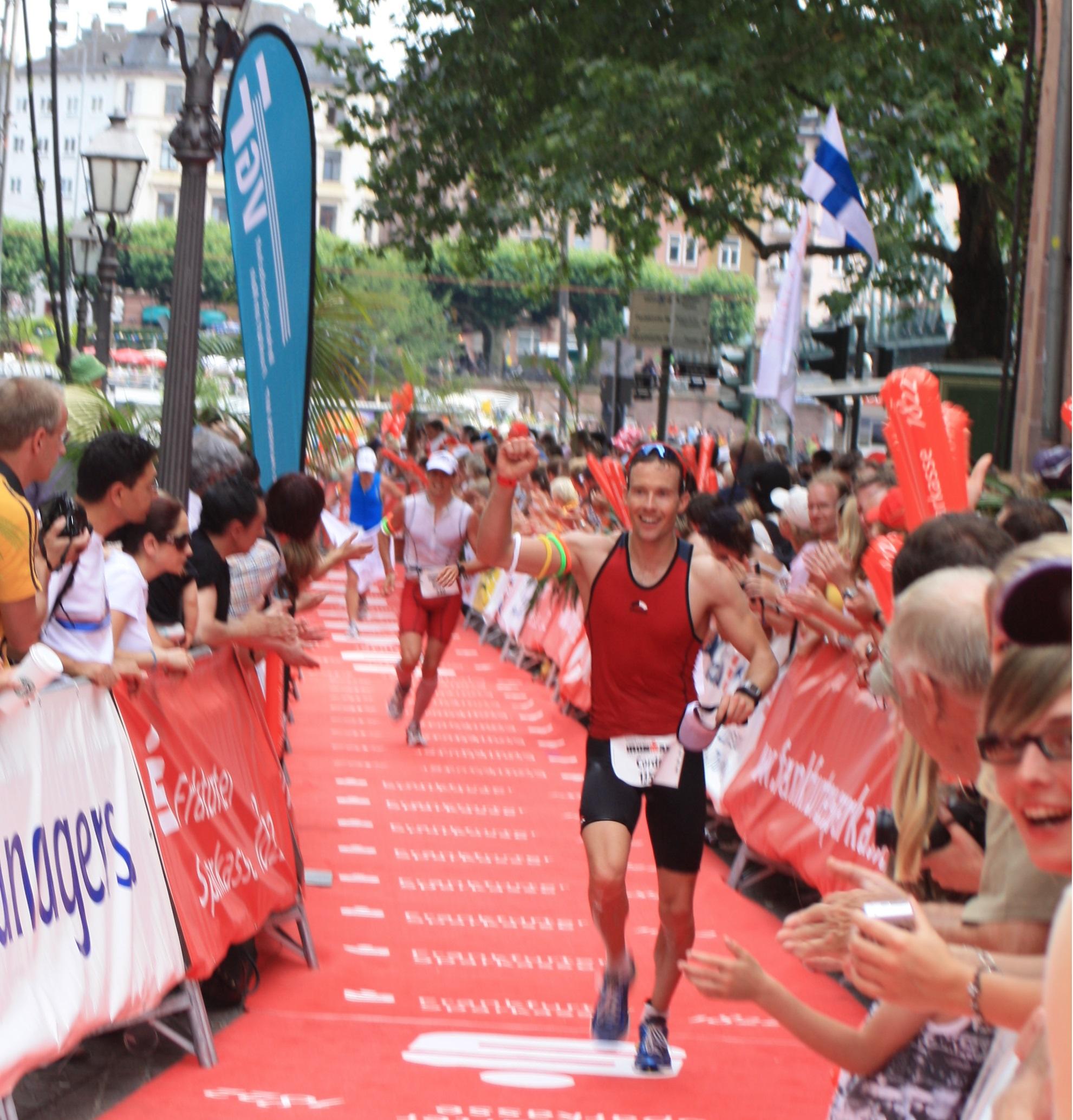 Foto Cordt Grabbe - Personal Trainer in Hameln - beim Ironman