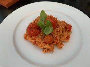 Tomaten - Risotto